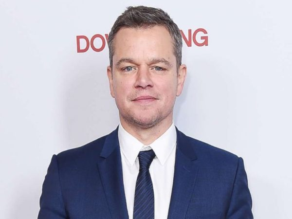 Matt Damon - National Hill
